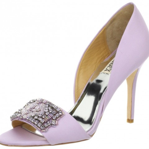 Badgley Mischka Alessandra Pump Lavender Color