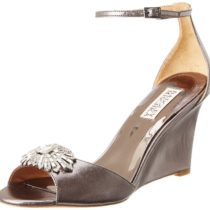 Badgley Mischka Harmony II Wedge Sandal Anthracite