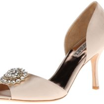Badgley Mischka Lacie Pump Natural Color