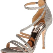 Badgley Mischka Landmark Dress Sandal Platino