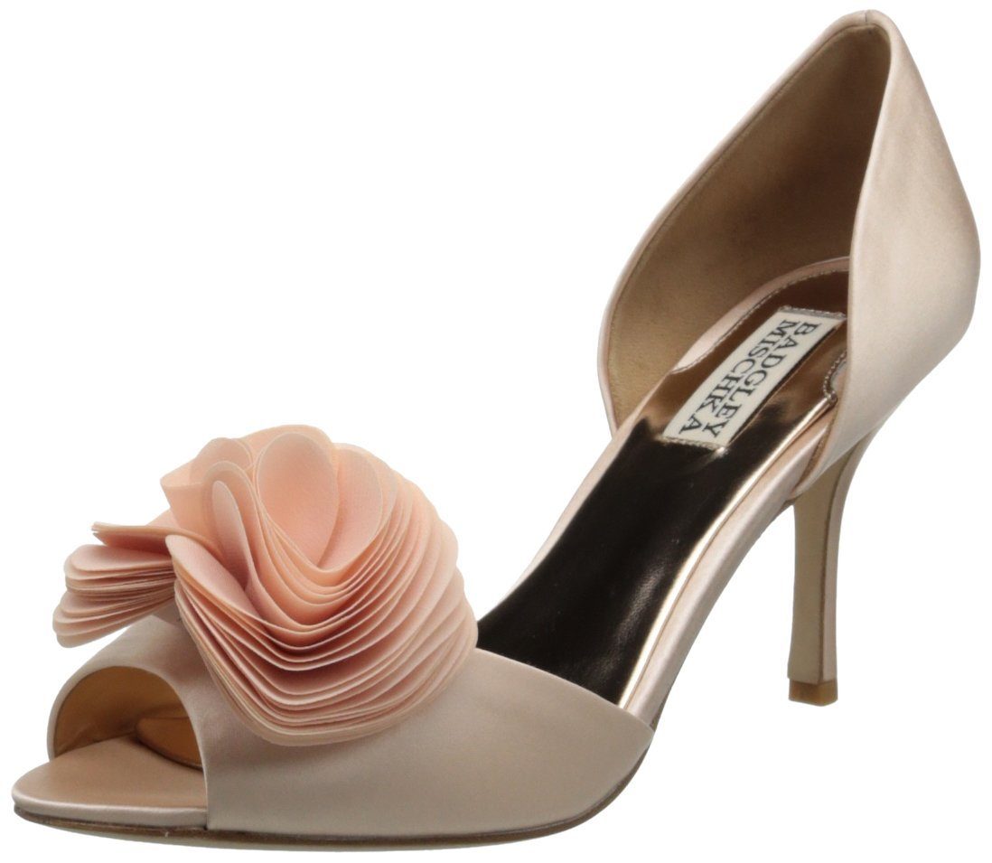 15f3b6e89ec Badgley Mischka Thora D Orsay Pump Pink Color