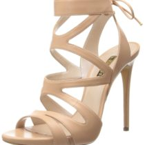 Casadei Open Toe Cross Straps Sandal Tan