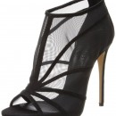 Casadei Open Toe Mesh High Heeled Sandal
