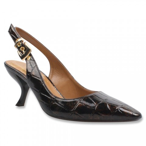 J.Renee Alaric Dress Pump Brown Color