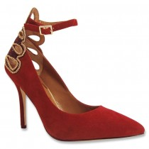 J.Renee Ellusion Dress Pump Red Color