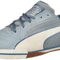 PUMA Momentta Vulc Sala Country Indoor Soccer Boots Monument Gray Birch Bijou Blue Color