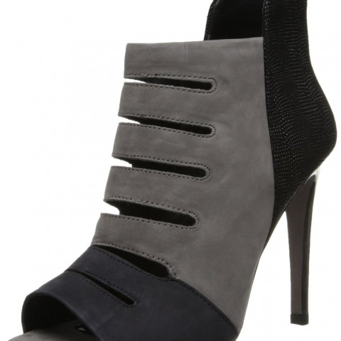 Rebecca Minkoff Reagan Dress Sandal Charcoal Grey