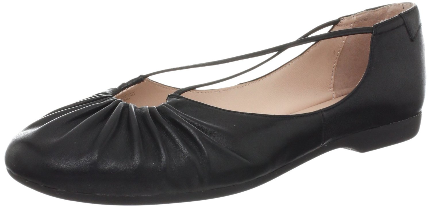 6436c35e444 Taryn Rose Bryan Ballet Flat Boots Black Color