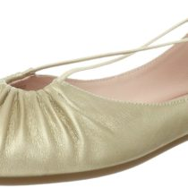 Taryn Rose Bryan Ballet Flat Boots Champagne Color