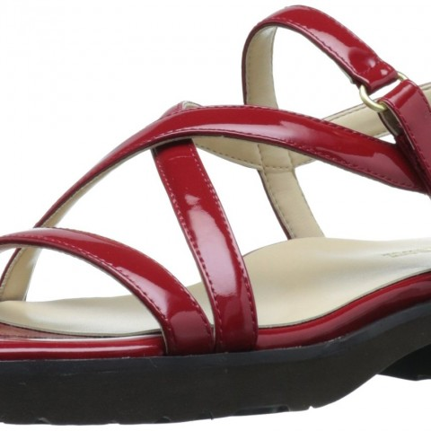 Taryn Rose Taylor Comfort Sandal Red Color