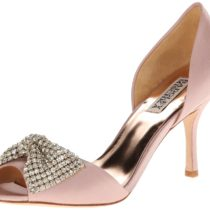 Badgley Mischka Lisbeth D Orsay Pump Blush Color