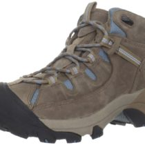 KEEN Targhee II Waterproof Hiking Shoe Shitake Blue Spruce Color