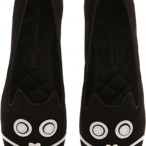 Marc Jacobs Rue Loafer Flat Shoes Black Color
