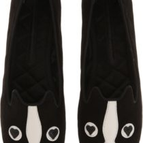 Marc Jacobs Shorty Loafer Flat Shoes Black Color