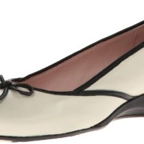 Taryn Rose Karumba Flat Shoes Antique White Color