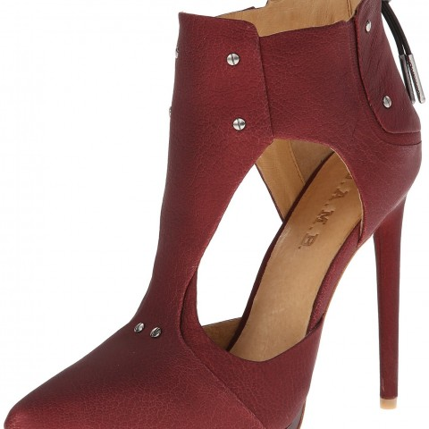 L.A.M.B. Trevor Dress Pump Wine Color