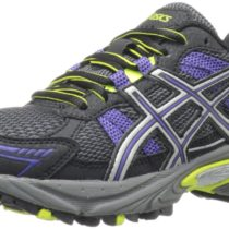 ASICS GEL-Venture 4 Trail Running Shoe Black Iris Lime Color