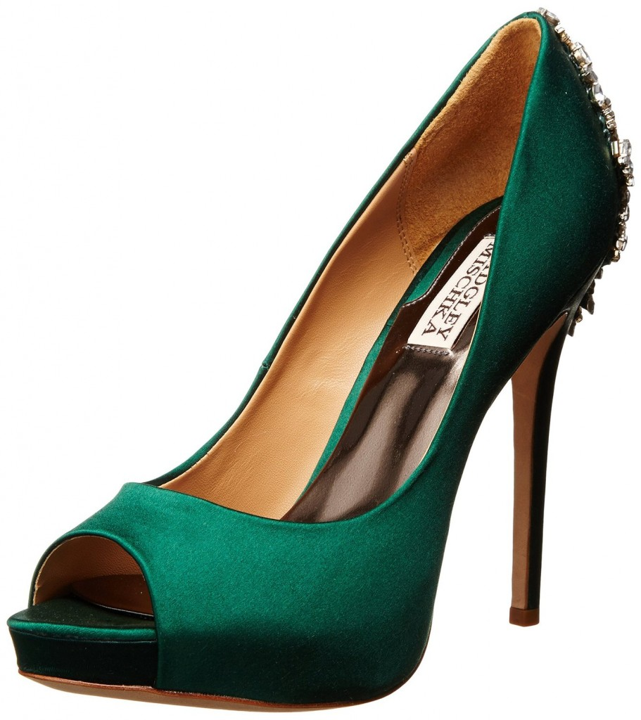 Badgley Mischka Kiara Platform Pump Top Heels Deals