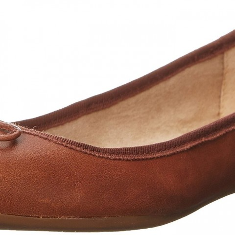 Jessica Simpson's Manie Ballet Flat Boots Bourbon Brown Color