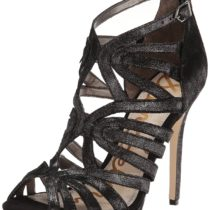 Sam Edelman Eve High Heel Dress Sandal Granite Color