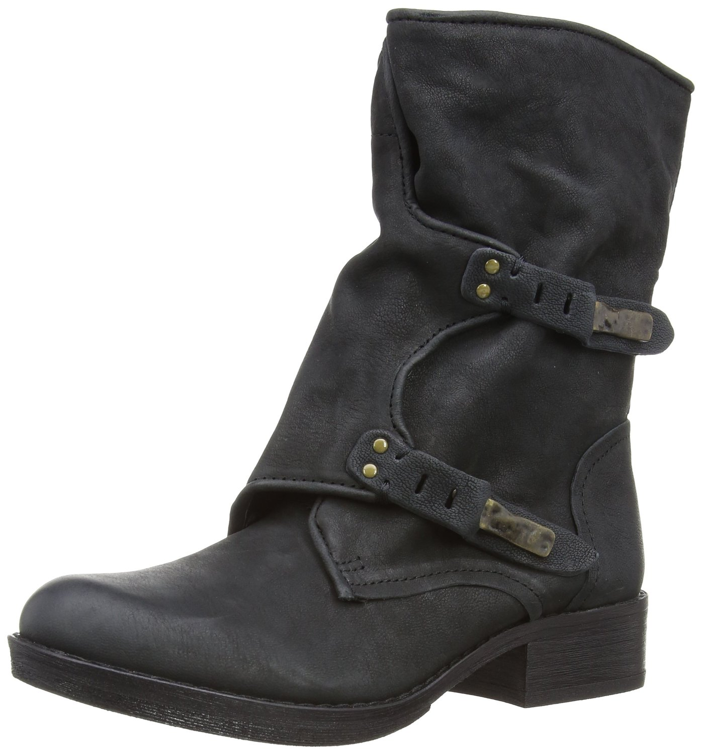 b105912f947e8 Sam Edelman Ridge Mid Calf Boot Black Color