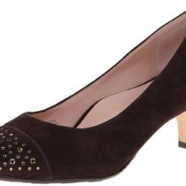 Taryn Rose Trulie Comfort Dress Pump Chocolate Color