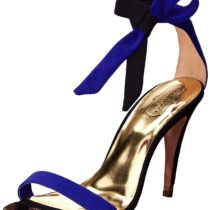 Ted Baker Sackina High Heel Dress Sandal Dark Blue Color