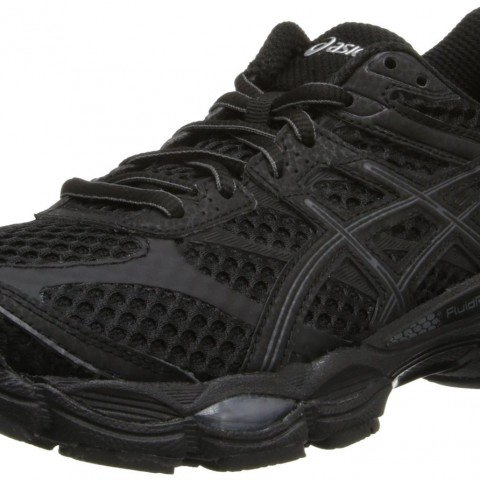 ASICS Gel-Cumulus 16 Running Shoe in BlackOnyxSilver Color