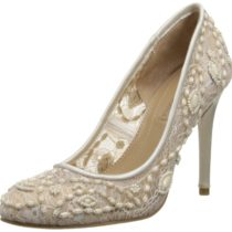 BCBGMAXAZRIA Bettie Dress Pump in Gardenia Color