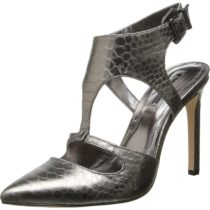 BCBGeneration BG Chamber Sandal in Gunmetal Color