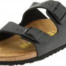Birkenstock Unisex Arizona Flat Leather Sandal