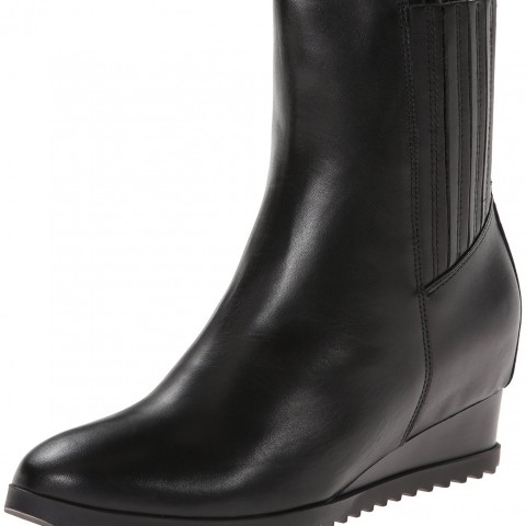 Calvin Klein Judith Boot in Black Color
