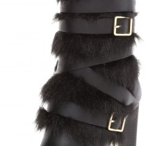 Calvin Klein Zelda Boot in Black Color