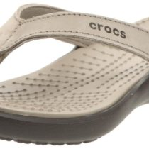 Crocs Capri IV Flip-Flop in MushroomEspresso Pink Color