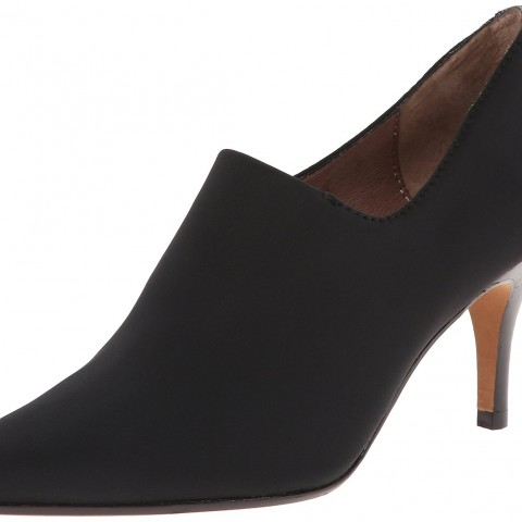 Donald J Pliner Tanna Dress Pump Black Stretch Crepe Color