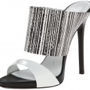 Giuseppe Zanotti E50117 Leather High Heel Dress Sandal