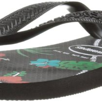 Havaianas Top Hawaiian Sandal in Black Color