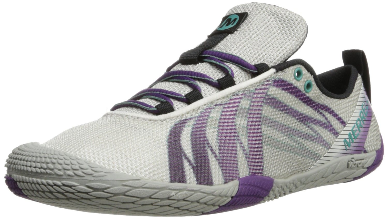 b911638455 Merrell Vapor Glove Trail Running Shoe in White Purple Color