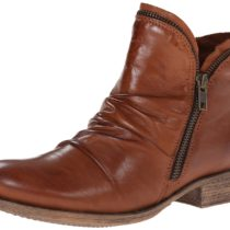 Miz Mooz Luna Chelsea Boot in Brandy Color
