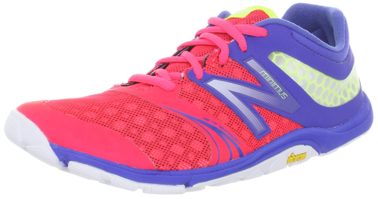 new balance minimus womens. new balance wx20v3 minimus cross-training shoe in blue diva pink color womens