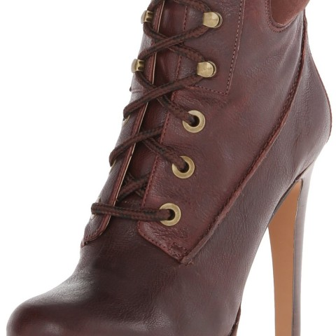 Nine West Alpachee Boot in CognacCognac Color