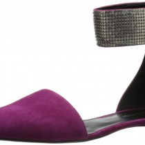 Nine West Ariva Mary Jane Flat in Purple and Pink Color