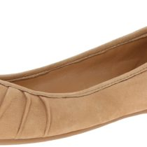 Nine West Blustery W Ballet Flat in Natural Color
