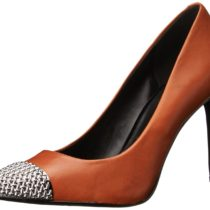 Nine West Chimein Comfort Dress Pump Dark Natural Color