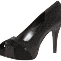 Nine West Chrissy Platform Pump Black Color