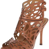 Nine West Fullforce Dress Sandal in Dark Natural