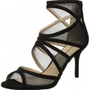 Nine West Gezzica Fabric Dress High Heel Sandal