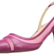 Nine West Howdy Dress Pump in Pink & Pink