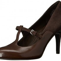 Nine West Larva Dress Pump Dark Brown Color