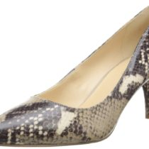 Nine West Margot Synthetic Dress Pump in Natural Multi Color